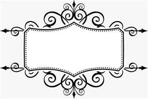 vector pattern frames cdr ancient black pattern vector frame vector ancient box
