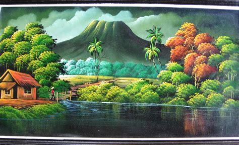 artblog kumpulan wallpaper lukisan pemandangan alam