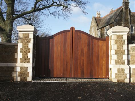 wooden swing gate wooden swing gates photo gallery from agd systems gates