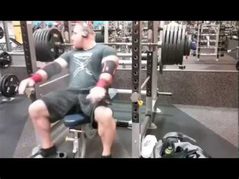 how to spot a bench press monster bench press no spot no lift off youtube