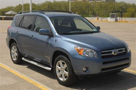 2008 Toyota Rav4 Mpg Find Used 2008 Toyota Rav4 Limited Sport Utility 4wd V6