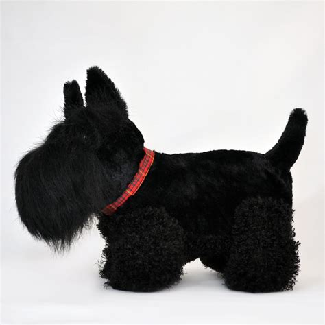 Toys Black black scottie soft 35cm hupper