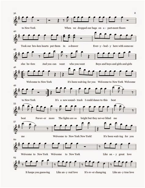 new year flute sheet flute sheet welcome to new york sheet