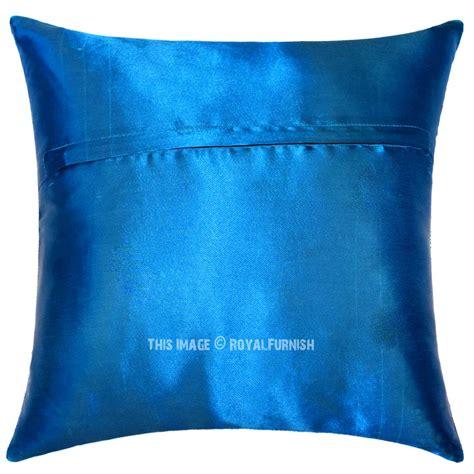 silk sofa pillows 16 quot turquoise blue indian tajmahal silk brocade sofa throw