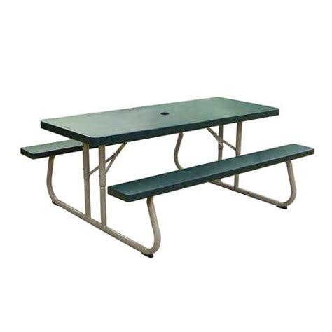 lifetime picnic table lifetime 6 picnic table green walmart ca