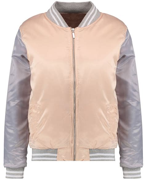 light pink bomber jacket womens light pink satin bomber jacket