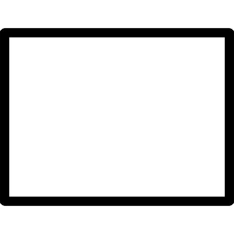 Black Outlined Rectangle by Rectangle Icon Page 15