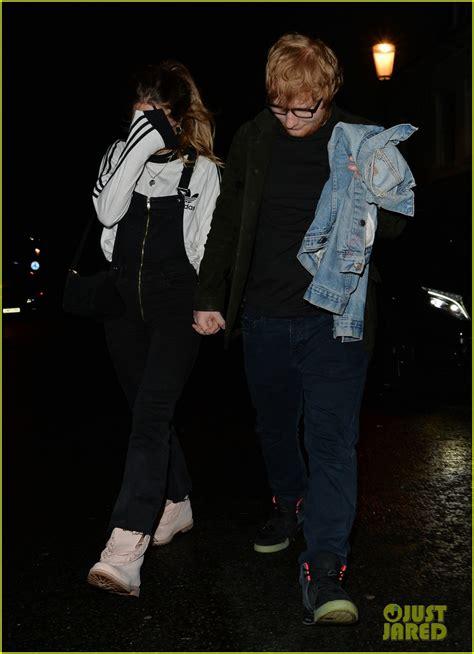 ed sheeran perfect night ed sheeran has date night with girlfriend cherry seaborn