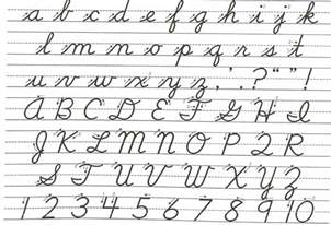 Cursive Template qualityg says cursive writing should be taught in