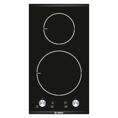 bosch induction hob lewis buy bosch pie375c14e domino induction hob black lewis