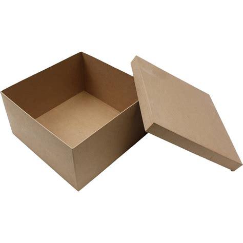 Wedding Box Of Matches Uk by Mache Square Shaped Box 32 Cm Hobbycraft