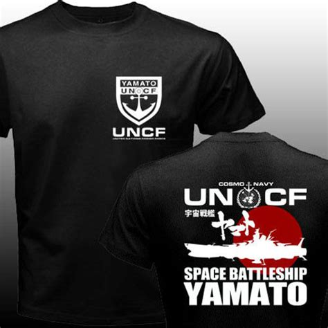 Tshirt Co Starring And Pleasure Anime new space battleship yamato blazers uncf navy japan