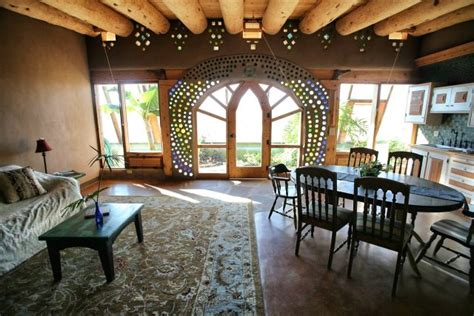 Earthship Interior by Earthship Green Homes Without Bills