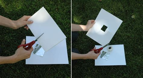 How To Make Pinhole With Paper - how to make a pinhole project nasa jpl edu