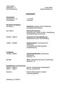 Tabellarischer Lebenslauf Vorlage Abitur Lebenslauf Hausfrau Muster F 252 R Den Wiedereinstieg Karrierebibel De
