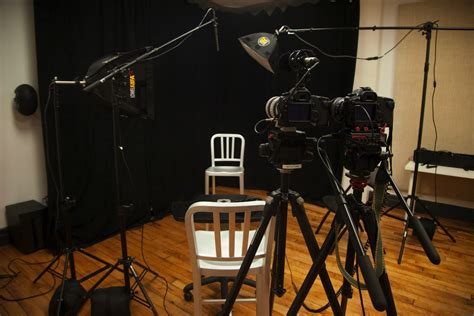 film set it up standard three camera interview setup