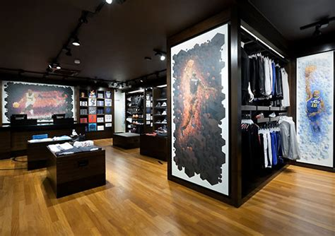 the graphic design house nike house of hoops rotterdam illustration murals by cooee graphic design 187 retail