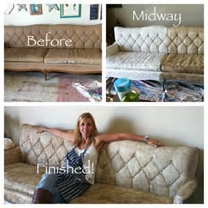 chalk paint sofa transformation using chalk paint 174 hip