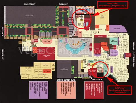 golden nugget floor plan las vegas trip