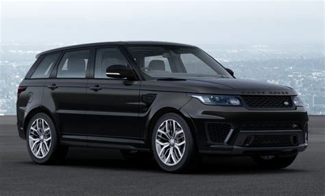 range rover svr black range rover sport svr corris 2017 2018 best cars reviews