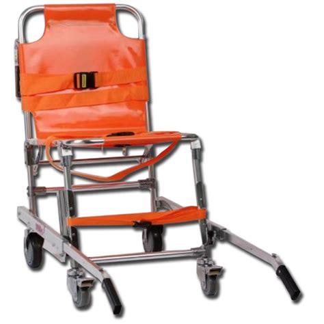 sedia di evacuazione sedia portantina da evacuazione a 4 ruote in alluminio