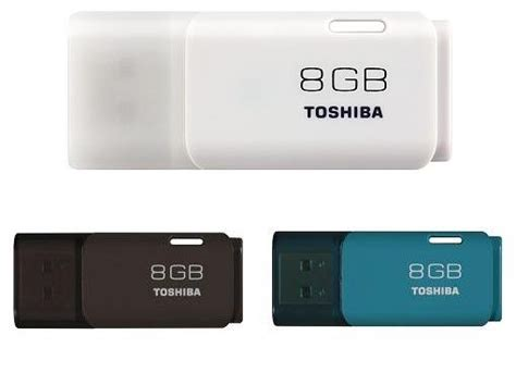 Usb Toshiba 8gb toshiba usb flash drive 8gb white brown light blue from