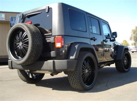 Jeep 18 Wheels Jeep Custom Wheels 18 19 20 22 24 Inch
