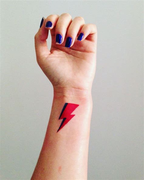 david bowie lightning bolt tattoo david bowie tattoos david bowie