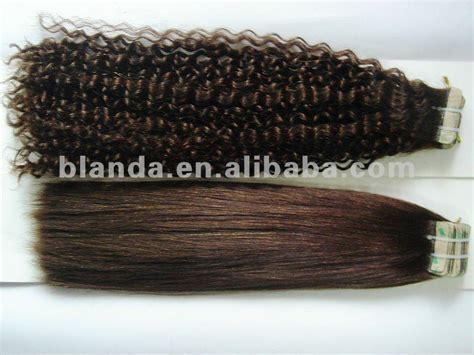 yaki skin weft hair extensions remy skin weft curly hair extensions yaki