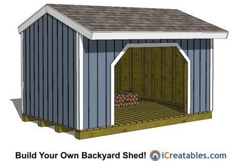 8x12 Metal Shed by 8x12 Firewood Storage Shed Firewood
