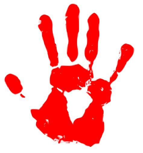 red hands file red hand svg wikimedia commons