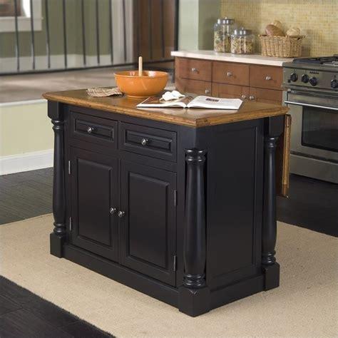 kitchen island sets roll out leg kitchen island set in black oak 5008 948
