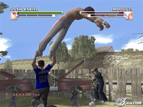 ps2 backyard wrestling backyard wrestling don t try this at home screenshots