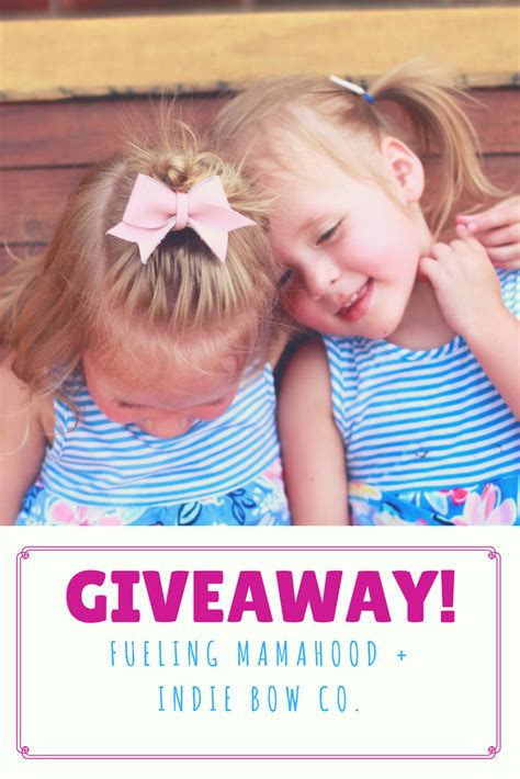 Bow Giveaway 2017 - bows bowties with indie bow co giveaway fueling mamahood