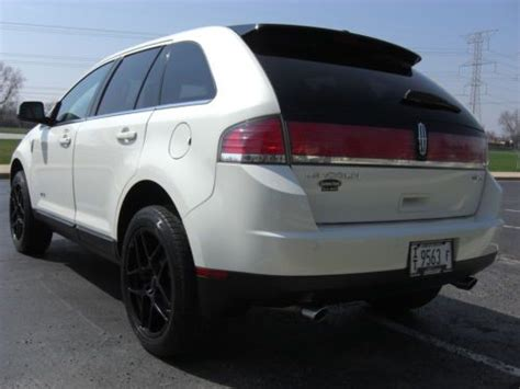 sell used 2008 lincoln mkx navigation in orland park illinois united states for us 14 495 00