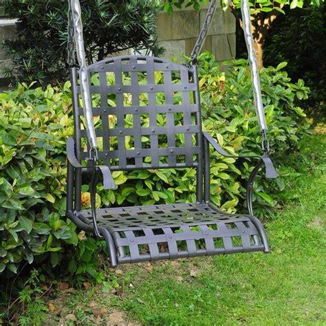 single seat swing 35 swingin backyard swing ideas