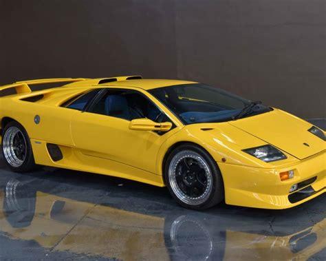Lamborghini Diablo Sale by For Sale 1999 Lamborghini Diablo Sv Performancedrive