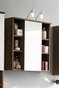 Mirrored Bathroom Storage Maxine Walnut Mirrored Bathroom Cabinet Bathroom Cabinets With Lights