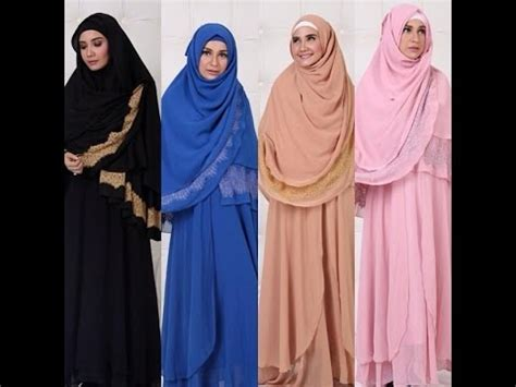 Gamis Syar I Shofiyah Hawa fashion butik desember 2014