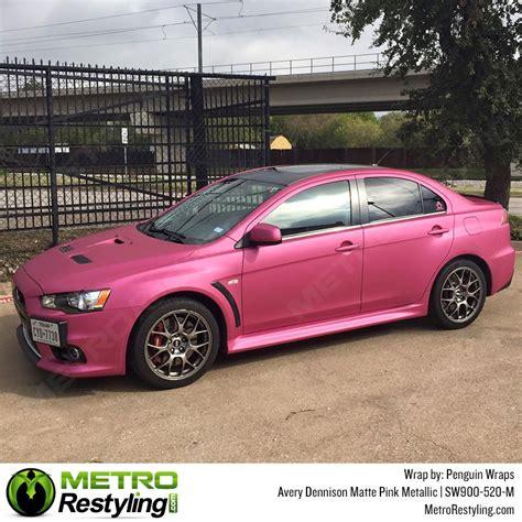 matte pink car avery matte metallic pink auto wrap vinyl wrap sw900