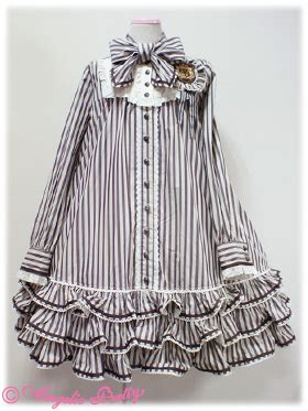 Angelic Dress Stripe reserved angelic pretty vintage stripe op in brown one
