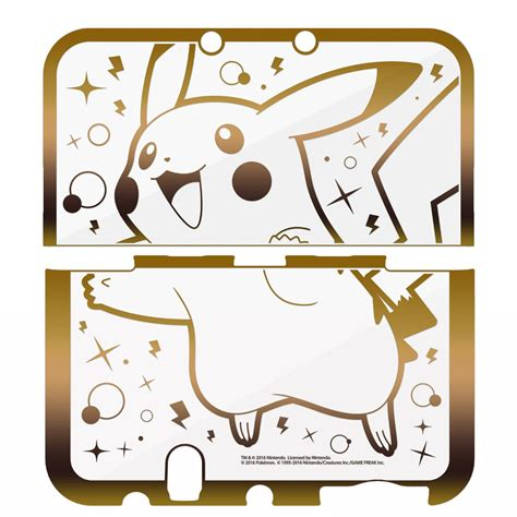 New 3ds Xl Hori Pikachu Pouch more photos revealed for the pikachu premium gold new nintendo 3ds xl protector