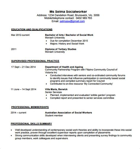 An Exle Of A Resume For A by Contemporary Resume Template 4 Free Word Excel Pdf