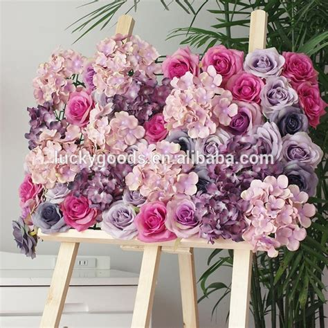 Backdrop Flower Decorations 2015 white artificial flower wedding stage backdrop