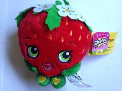 Boneka Plush Shopkins Original free shopkins 6 quot strawberry plush soft stuffed animal new nwts dolls stuffed