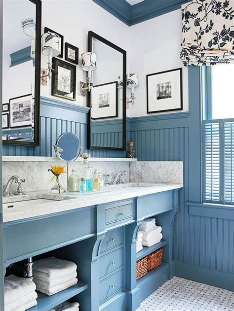 bloombety wainscoting in bathroom ideas with pale blue 17 best images about bathroom redesign on pinterest