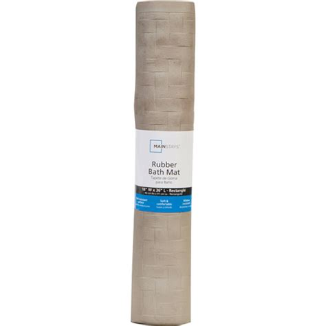 mainstays rubber tub mat collection walmart