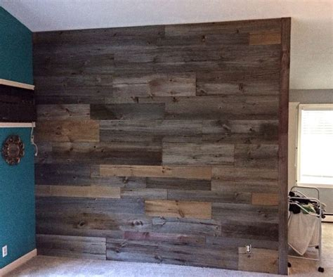 the inspiration chronicles barnwood accent walls grey brown accent wall barn wood pinterest accent walls