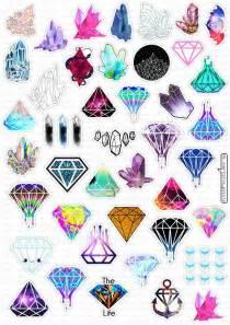 imagenes de unicornios hipster las 25 mejores ideas sobre diamante dibujo en pinterest y