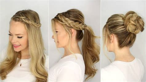 easy and beautiful hairstyles step by step beautiful easy hairstyles step by step www pixshark com